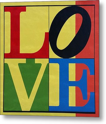 Love In Colors Metal Print by Rob Hans