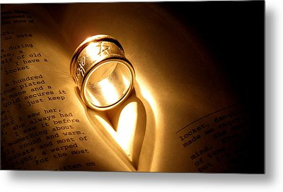 Love In Pages Metal Print by Stephen Melcher