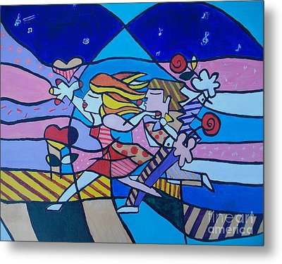 Love Is In The Air Metal Print by Marcus Hudson