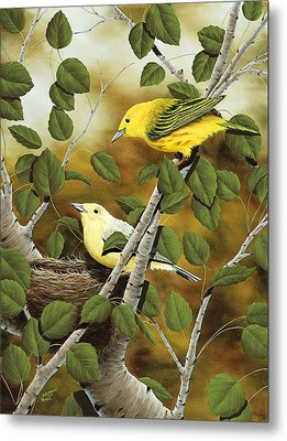 Love Nest Metal Print by Rick Bainbridge