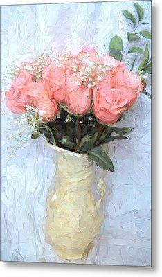 Love Silently - Flower Art Metal Print by Jordan Blackstone