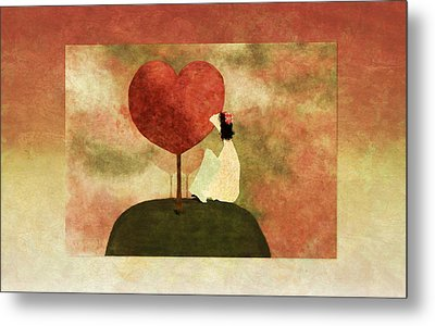 Love Tree -01b Metal Print by Variance Collections