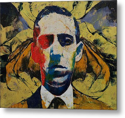 Lovecraft Metal Print by Michael Creese