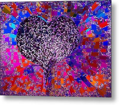Love's Abyss And All About This Metal Print by Kenneth James