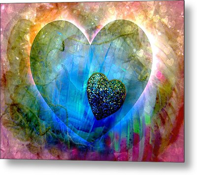 Love's Sighs Metal Print by Shirley Sirois