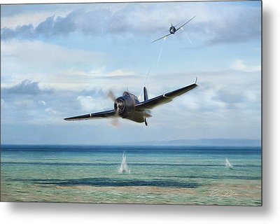 Low And Hot Metal Print by Peter Chilelli