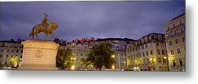 Low Angle View Of A Statue, Castelo De Metal Print by Panoramic Images