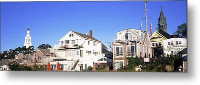 Low Angle View Of Buildings, Cape Cod Metal Print by Panoramic Images