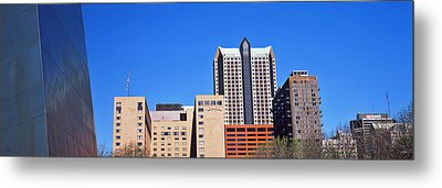 Low Angle View Of Buildings, Hyatt Metal Print by Panoramic Images