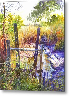 Lowcountry Legacy Metal Print by Alice Grimsley