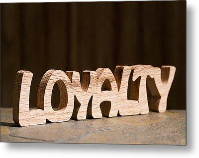 Loyalty Metal Print by Donald  Erickson