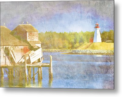 Lubec Maine To Campobello Island Metal Print by Carol Leigh