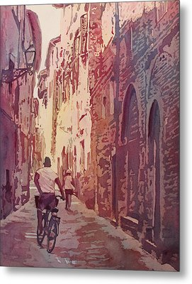 Lucca Metal Print by Jenny Armitage