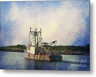 Lucky Catch Metal Print by A New Focus Photography