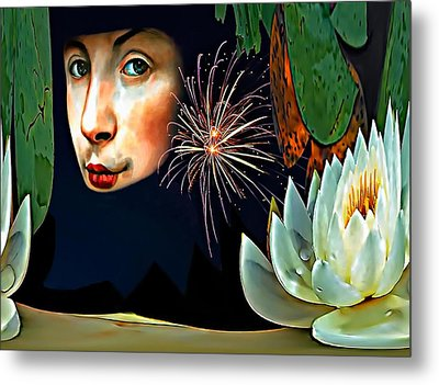 Lucy In The Sky With Diamonds 2    Metal Print by Steve Harrington
