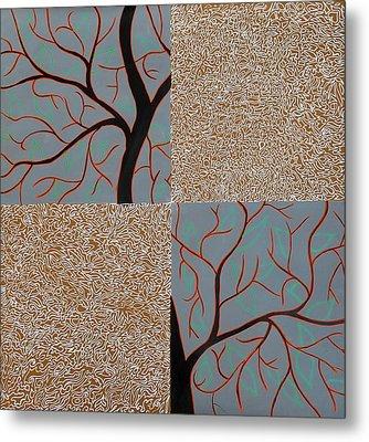 Luminous Tree Of Barsoom Metal Print by Sumit Mehndiratta