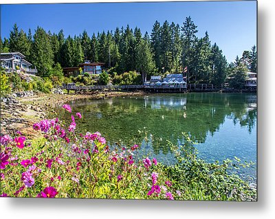 Lund British Columbia Metal Print by Pierre Leclerc Photography