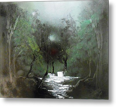 Lush Forest Metal Print by Aaron Beeston