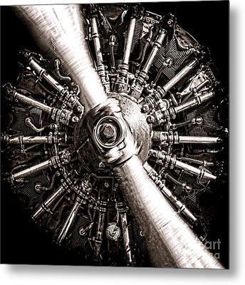 Lycoming  Metal Print by Olivier Le Queinec