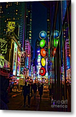 m and m store NYC Metal Print by Jeff Breiman