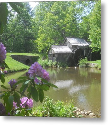 Mabry Mill In May Metal Print by Diannah Lynch