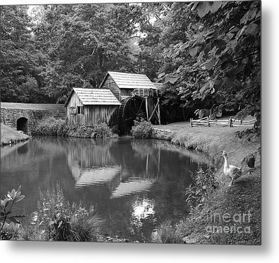 Mabry Mill Metal Print by Mel Steinhauer