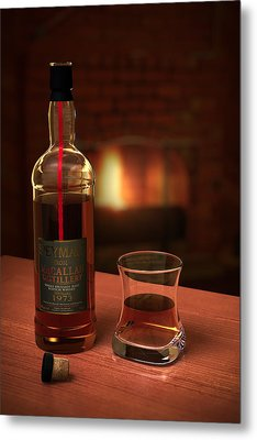 Macallan 1973 Metal Print by Adam Romanowicz