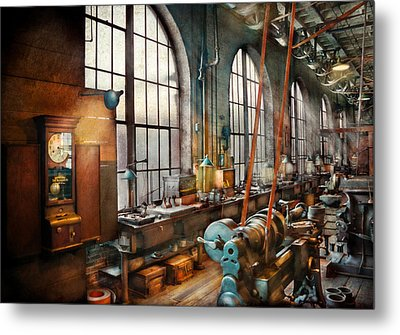 Machinist - Back In The Days Of Yesterday Metal Print by Mike Savad