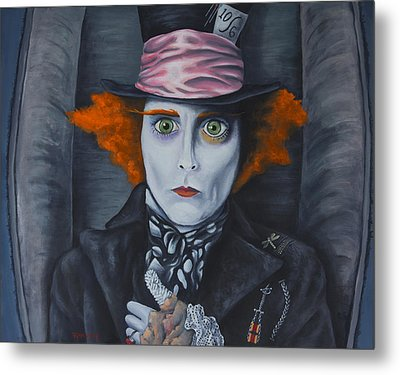 Mad Hatter Metal Print by Travis Radcliffe