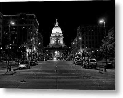 Madison Wi Capitol Dome Metal Print by Trever Miller