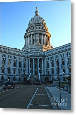 Madison Wisconsin Capitol Building - 01 Metal Print by Gregory Dyer