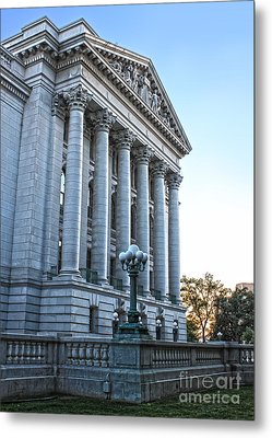 Madison Wisconsin Capitol Building - 05 Metal Print by Gregory Dyer