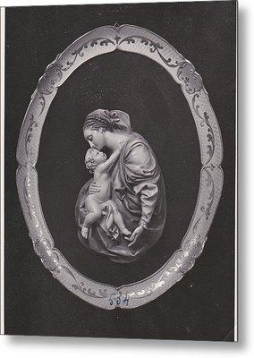 Madonna And Child Metal Print by Allan Koskela