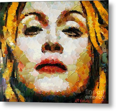 Madonna Metal Print by Dragica  Micki Fortuna