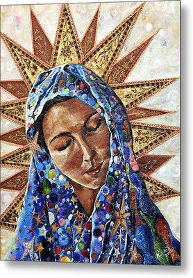 Madonna Of The Dispossessed Metal Print by Mary C Farrenkopf