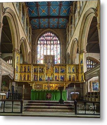 Magdalene Church Altar Metal Print by Steev Stamford