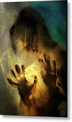 Magic Hands Metal Print by Gun Legler
