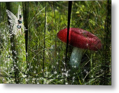 Magic Mushroom. Metal Print by Nathan Wright