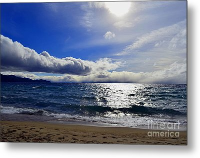 Magnificent Lake Tahoe Metal Print by Greg Cross