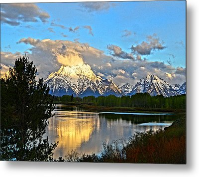 Magnificent Mountain Metal Print by Dan Sproul