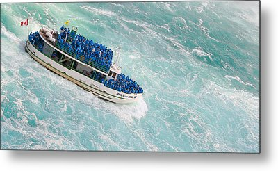 Maid Of The Mist At Niagara Falls Metal Print by Ben and Raisa Gertsberg