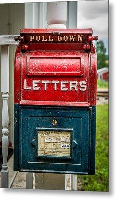 Mail Box Metal Print by Paul Freidlund