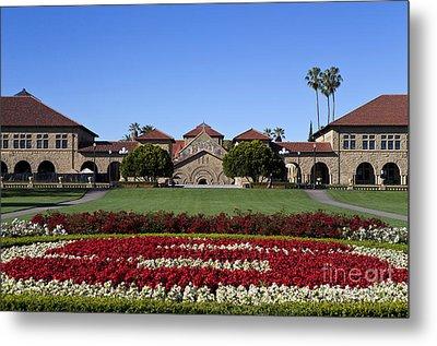 Main Quad Stanford California Metal Print by Jason O Watson