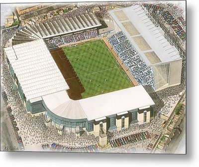 Maine Road - Manchester City Metal Print by Kevin Fletcher
