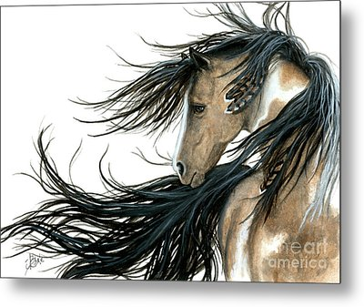 Majestic Horse Series 89 Metal Print by AmyLyn Bihrle