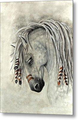 Majestic Mustang 30 Metal Print by AmyLyn Bihrle
