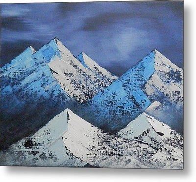 Majestic Rockies Metal Print by Jared Swanson