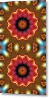 Mandala 103 For Iphone Double Metal Print by Terry Reynoldson