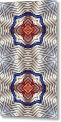 Mandala 11 For Iphone Double Metal Print by Terry Reynoldson
