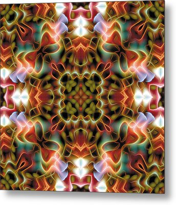 Mandala 120 Metal Print by Terry Reynoldson